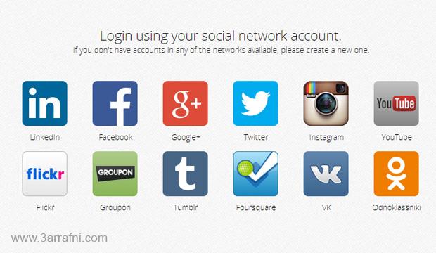 اداره جميع حساباتك الاجتماعيه علي Windows 8 / 8.1