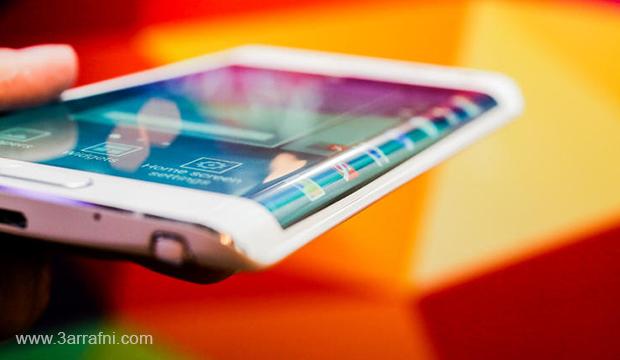 مواصفات ومميزات هاتف Galaxy Note Edge ذات شاشه المنحنيه من سامسونج