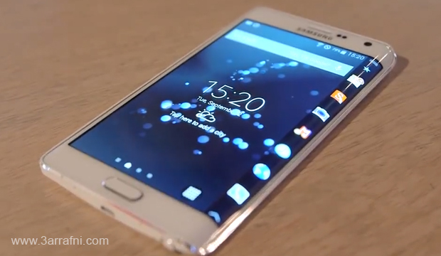 مواصفات ومميزات هاتف Galaxy Note Edge ذات شاشه المنحنيه من سامسونج (2)