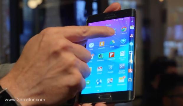 مواصفات ومميزات هاتف Galaxy Note Edge ذات شاشه المنحنيه من سامسونج (4)