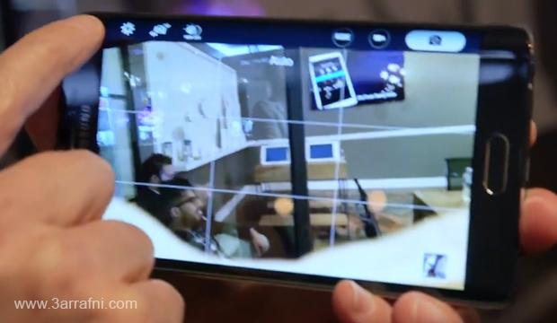 مواصفات ومميزات هاتف Galaxy Note Edge ذات شاشه المنحنيه من سامسونج (8)