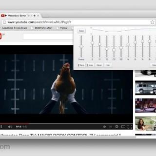 اضافه لرفع صوت الفيديوهات علي اليوتيوب في جوجل كروم