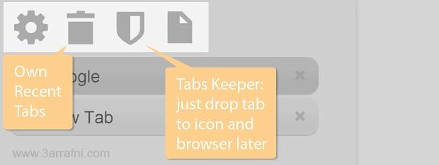 اضافه Vtabs لعرض النوافذ في جوجل كروم بشكل عمودي