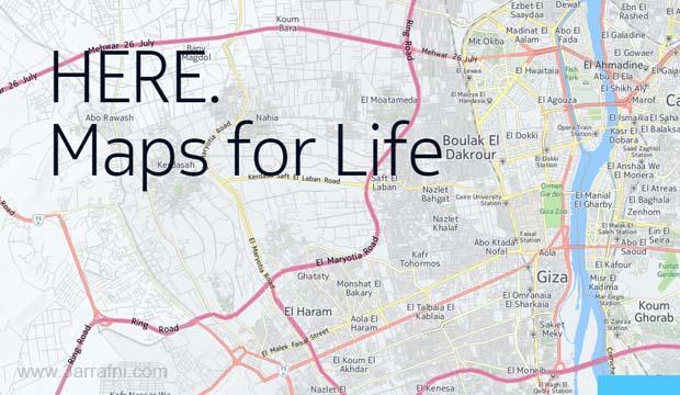 تطبيق الخرائط الجديد من نوكيا لهواتف الاندرويد