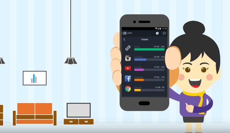 تطبيق مجانى لمراقبة استهلاك الانترنت على هاتفك