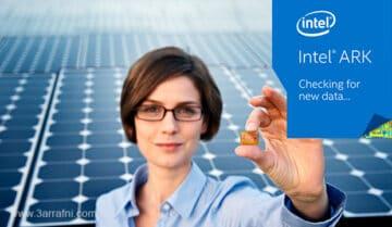 تطبيق يمكنك من معرفة انواع وتفاصيل معالجات Intel والمقارنة بينهم