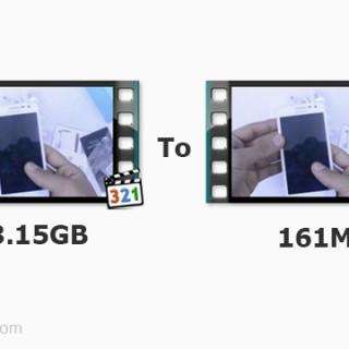 افضل طريقة لضغط مساحة الفيديو مع الحفاظ علي الجودة