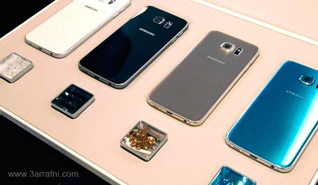 الوان Galaxy S6 و Galaxy S6 edge