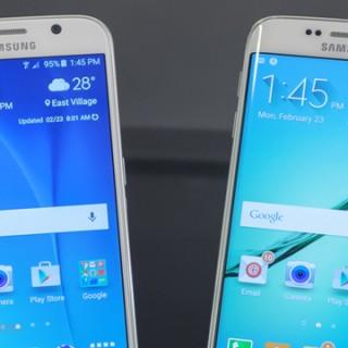 شاشة Galaxy S6 و Galaxy S6 edge