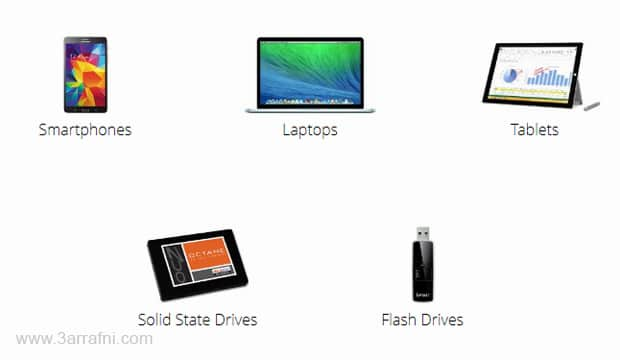 موقع لمعرفة اي اجهزة لاب توب او الهواتف الذكية والتابلت المناسبة لك