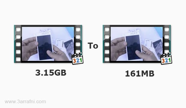 افضل طريقة لضغط مساحة الفيديو مع الحفاظ علي الجودة بأستخدام Camtasia