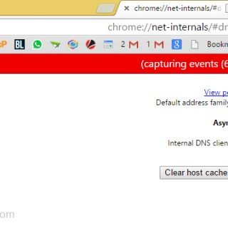 طريقة لحذف DNS Cashe لمتصفح Google Chrome