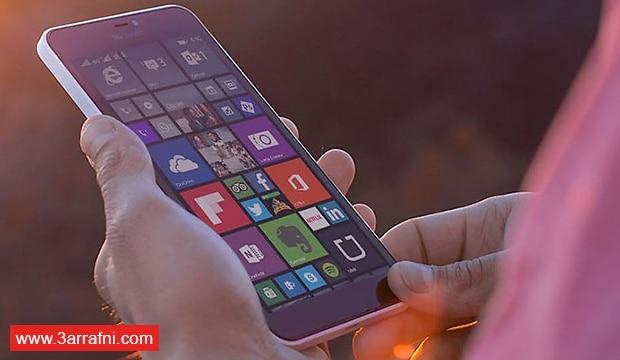 شاشة هاتف Microsoft lumia 640 XL