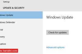 تحديد سرعة الانترنت لتحميل تحديثات الويندوز windows update