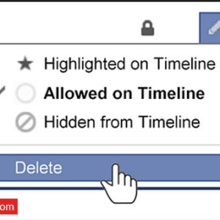 حذف جميع منشوراتك على الفيس بوك