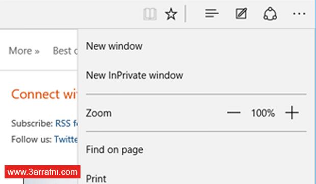 مراجعة لمتصفح ويندوز 10 Microsoft Edge (4)