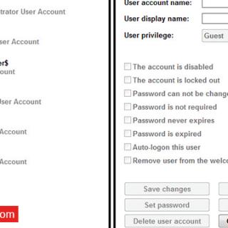 أداة Quick user manager للتحكم فى صلاحيات المستخدمين فى ويندوز 7 و 8.1 و 10