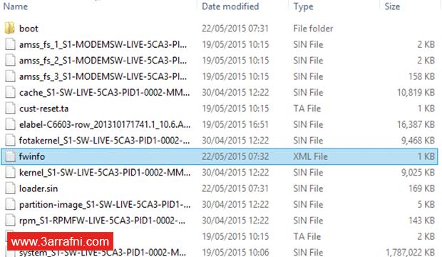 تحميل سوفت وير و رومات جميع أجهزة SONY™ XPERIA (11)