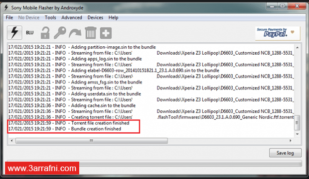 تحميل سوفت وير و رومات جميع أجهزة SONY™ XPERIA (16)