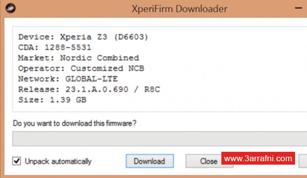 تحميل سوفت وير و رومات جميع أجهزة SONY™ XPERIA (17)