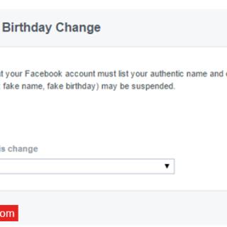 طريقة تغيير تاريخ ميلادك فى الفيس بوك بعد تجاوز الحد الأقصى للتغيير