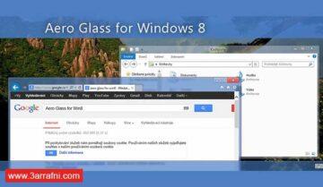 تفعيل خاصية شفافية النوافذ Aero Glass فى ويندوز 8 و 8.1 و 10