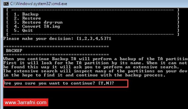 عمل نسخة إحتياطية للأزرار الرئيسية DRM Keys و X-Reality لـ هواتف سونى (1)