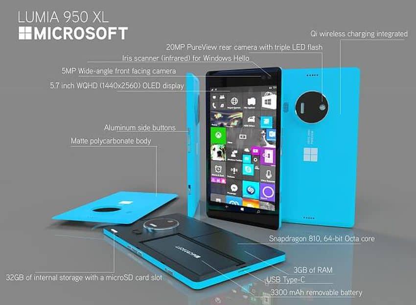 مراجعة عيوب ومُميزات ومواصفات هاتفى Lumia 950 & 950XL مع السعر (1)