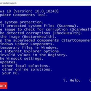 أداة لإصلاح مشاكل التحديثات فى ويندوز 10 و 8.1 و 7 و معظم المشاكل الأخري