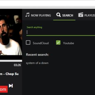تشغيل الأغاني من YouTube و Soundcloud مباشرة من خلال شريط العنوان فى جوجل كروم