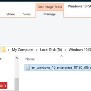 طريقة نسخ الإسطوانات فى ويندوز 10 بدون برامج (2)