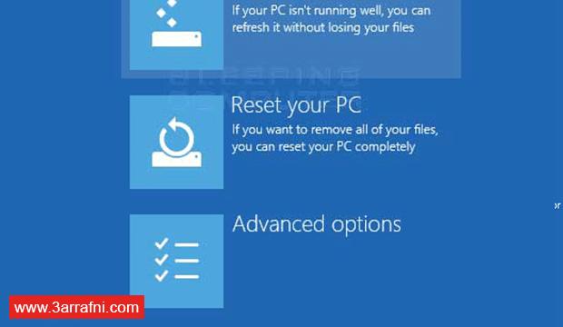 مشكلة Your PC needs to be repaired (1)