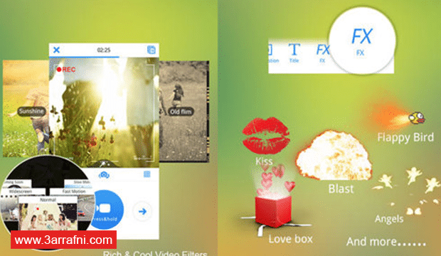 تطبيقات للاندرويد و الايفون لتحرير الفيديو و تعديله (1)
