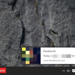 facebook notification on google chrome