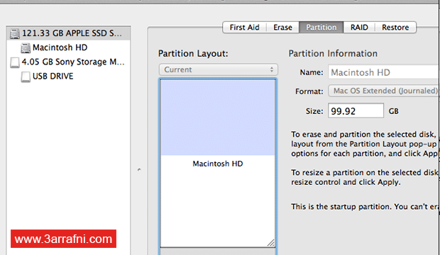 تثبيت نظام لينكس Linux بجانب نظام ماك Mac (5)