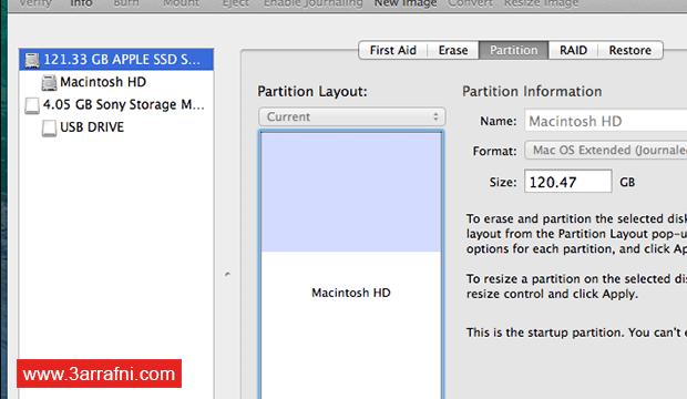 تثبيت نظام لينكس Linux بجانب نظام ماك Mac (6)