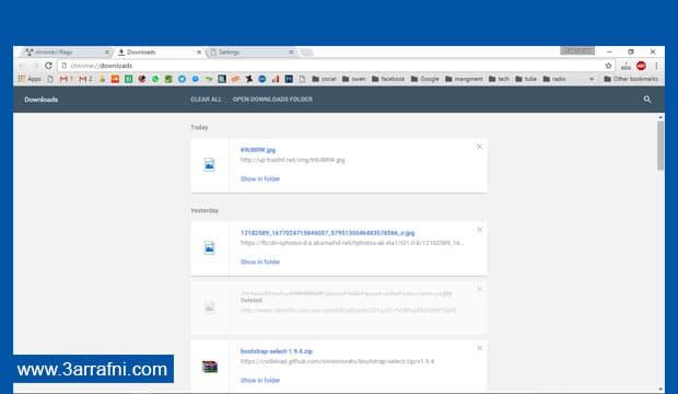تفعيل شكل Material Design في متصفح جوجل كروم (1)