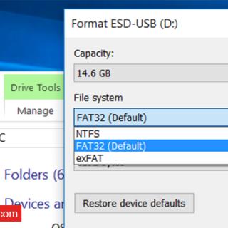 ما هي إمتدادات FAT32 ,exFAT ,NTFS (2)
