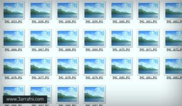حل مشكلة عدم ظهور ايقونات المعاينة للصور والمجلدات في ويندوز