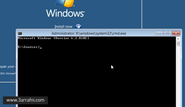 cmd Windows Setup