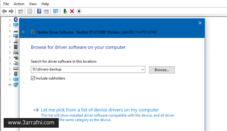 Restore Device Drivers