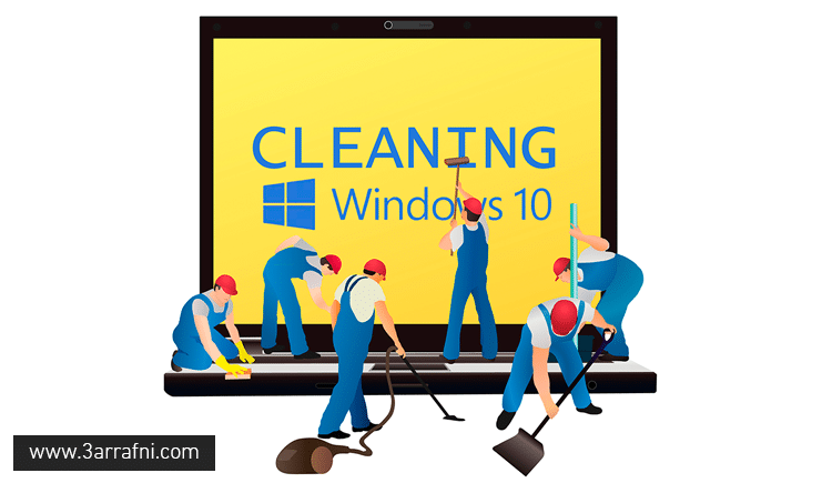 cleaning computer after install Anniversary Update