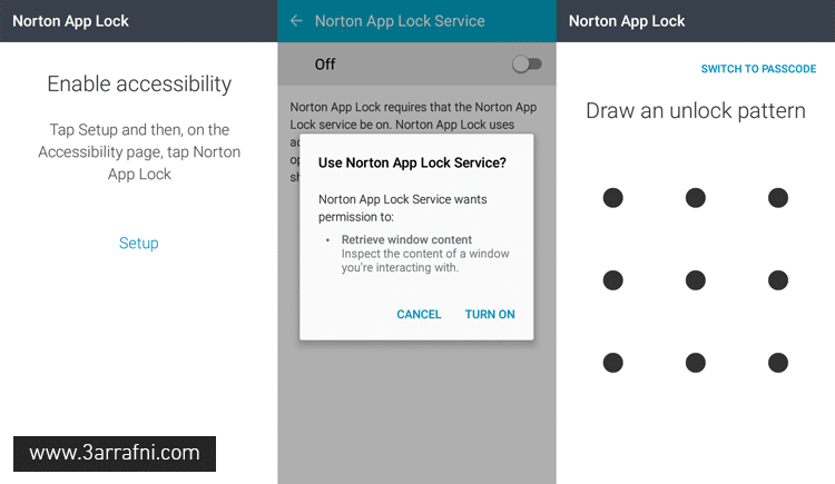 norton-app-lock-enable