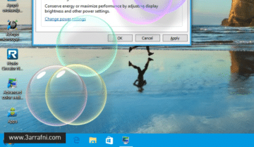 تفعيل الشاشة المؤقتة Screen saver في ويندوز 10 مرة آخري