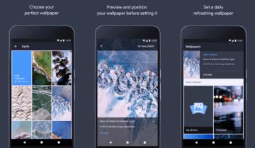 تطبيق Google Wallpapers لتغير خلفية الهاتف يومياً
