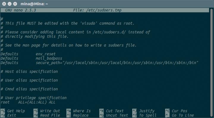 كيفية ظهور كلمة المرور في نافذة Terminal على شكل نجوم asterisks في نظام Ubuntu