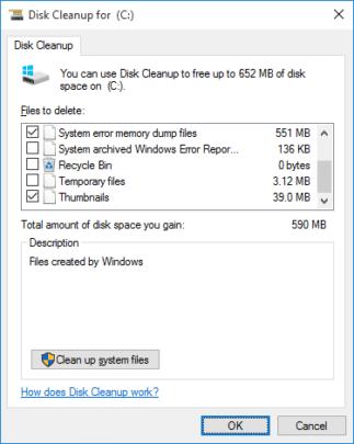 كيفية مسح الملفات المؤقتة Temp Files في ويندوز 10