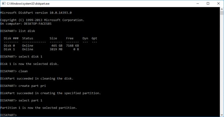 كيفية حرق نسخة نظام تشغيل باستخدام Command Prompt على نظام Windows