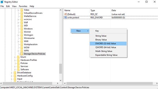 كيفية تفعيل حماية الكتابة Write Protection على USB Drive على نظام ويندوز