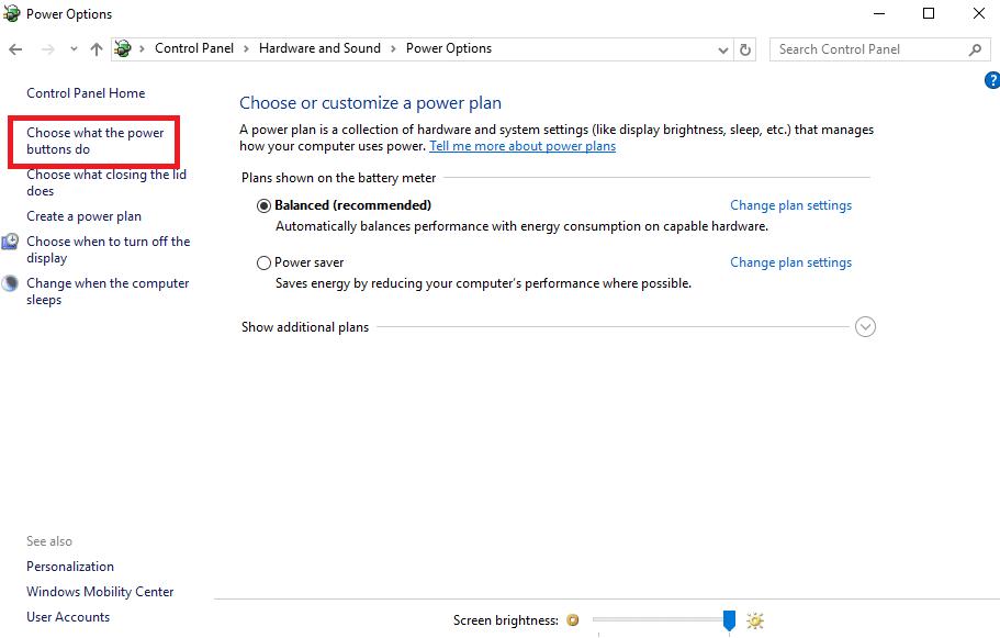 زيادة سرعة تشغيل ويندوز 10